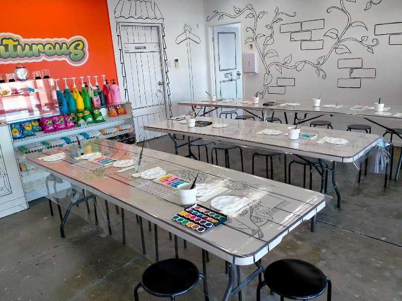 Adults and Kids Arty Parties